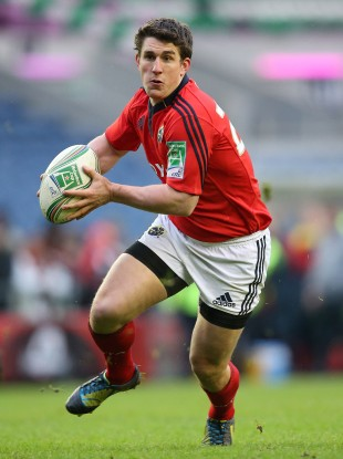 Keatley against Edinburgh last weekend. 