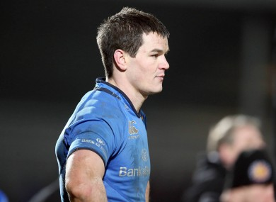 Sexton will leave Leinster at the end of the season.