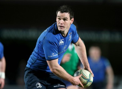 It was confirmed on Friday that Sexton will leave Leinster at the end of the season.