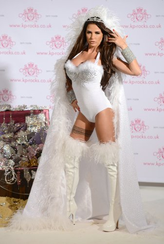 Katie Price Jewellery Launch - London