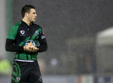 Robbie Henshaw has played 19 times for Connacht this season.