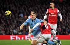 As it happened: Arsenal v Manchester City, Premier League
