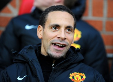 Rio Ferdinand has aspirations to be the next James Bond.