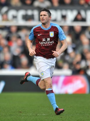 Keane was on loan at Villa last season. 