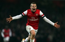 Jack Wilshere the goal hero as Arsenal edge through