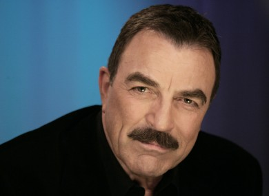 Tom Selleck: never had a problem growing a 'tache.