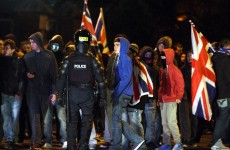 Nine police officers injured and 18 arrests in Belfast protests
