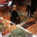 Fruit markets stayed largely the same, despite all the advancements, and they became a staple of Afghan culture.