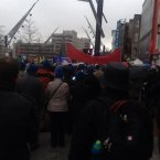 ICTU march, Cork city.