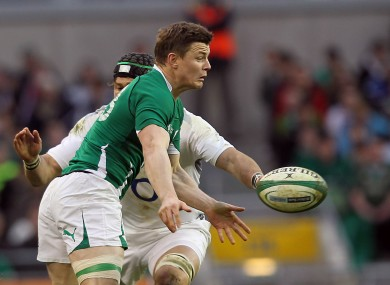 Brian O'Driscoll has a good recent record against England.
