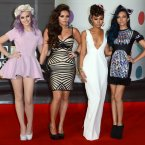 The Little Mix girls look great.  We'd quite like to live in one of those flowers in Perry's hair.  Doug Peters/Doug Peters/EMPICS