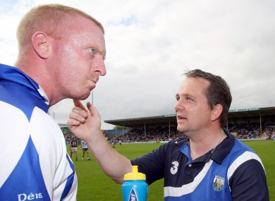 John Mullane and Davy Fitzgerald.