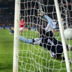 Cork's Donncha O'Connor scores a penalty past Dublin goalkeeper Stephen Cluxton. Pic: INPHO/Cathal Noonan