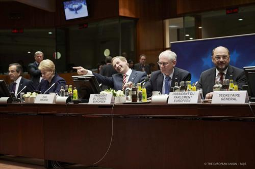 Enda Kenny European Council photo