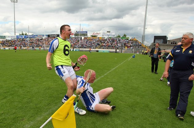 Eoin Kelly and John Mullane celebrate 17/6/2012