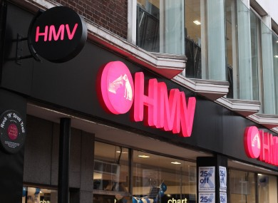 HMV's flagship store on Grafton St is one of 16 Irish stores to close permanently.