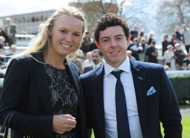 Wozniacki and McIlroy. 