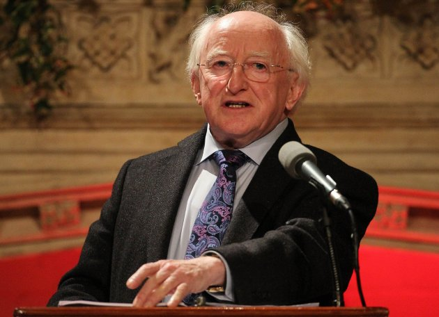 Let's root out hatred, says Higgins