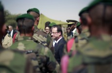 French president makes trip to Mali city of Timbuktu