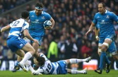 Report: 4-try Scotland dominate lacklustre Italians