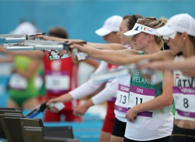 Natalya Coyle: ninth in modern pentathlon last summer but the event could be cut from the 2020 Olympics.