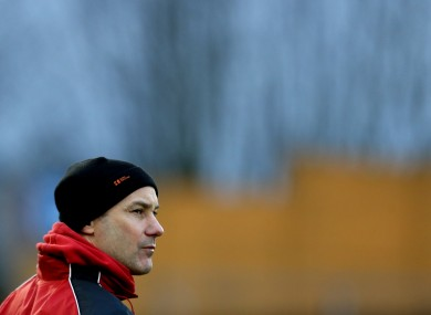 Ballymun Kickhams manager Paul Curran