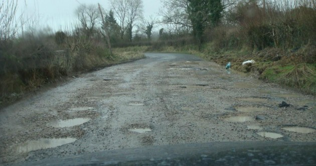 Open thread: Is your local road as bad as this one?