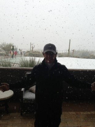 Rory McIlroy: 'the weather is officially ridiculous.'