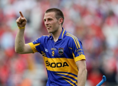 New Tipperary captain Shane McGrath.
