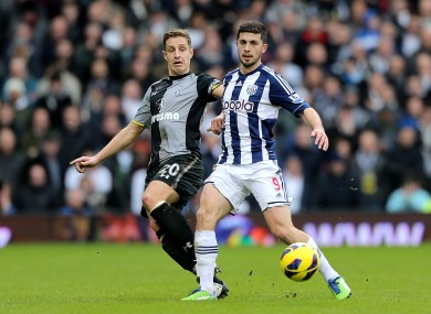 Shane Long and Michael Dawson. 