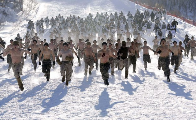 South Korea US Winter Military Exercise
