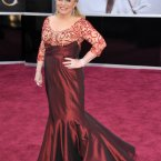 Actress Jacki Weaver wore two million dollars worth of jewels.