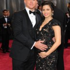 Channing Tatum and Jenna Dewan are going to have their baby in London. They were both very cute about it.