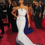 Zoe Saldana was d'mother's pick of the night. Can't argue too much with that.