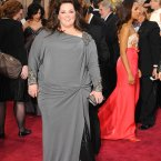 Melissa McCarthy and her big hair.