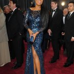 Jennifer Hudson in Roberto Cavalli, the Bet Lynch of fashion.