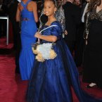 Quvenzhane Wallis with her matching dog purses. How long do you think that phase will last?