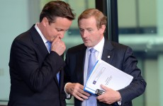 Taoiseach travels to London to discuss British-Irish relations with Cameron