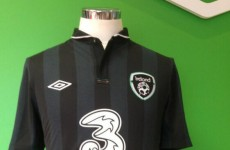 What do you make of Ireland's new jersey?