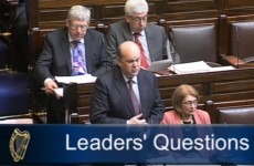 Leaders' Questions: Concerns over banks' role in mortgage arrears plan