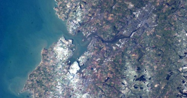 Hello Ireland! Cork, Waterford and Killarney as seen from space