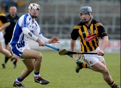 Ger Aylward moves past Stephen Daniels of Waterford