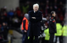 Trapattoni vows to fight on as Ireland boss, despite Austria setback