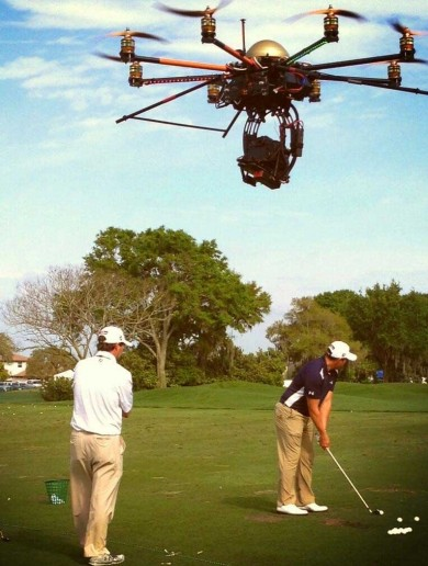 Check out the insane-looking drone camera the Golf Channel are reportedly using to film golfers