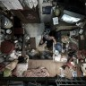Aerial views of Hong Kong's 'cage' apartments