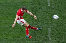 6 Nations: Halfpenny boot shines through messy Welsh win