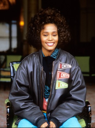 American soul singer Whitney Houston circa 1988