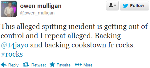 Owen Mulligan tweet