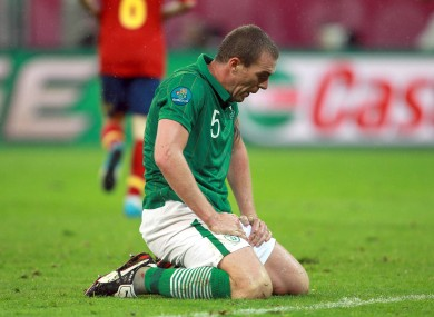 Richard Dunne has struggled with injuries since Euro 2012.