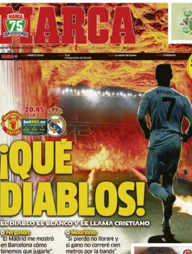 'The devil is white as his name is Cristiano' – Madrid ready to face Fergie's firing squad